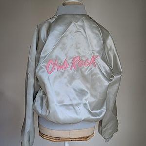 Vintage 80s Club Rock bomber